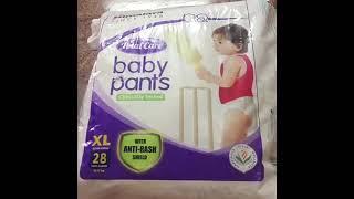 Himalaya's baby pants diaper review