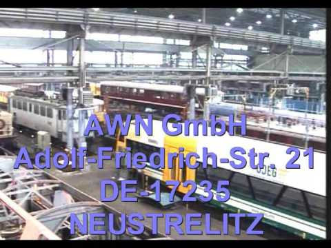 ARRIVA WERKE NORD (AWN) - Rail repair workshop not only for Germany