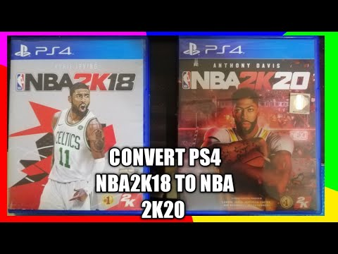 HOW TO UPDATE 2K18 ROSTER TUTORIAL Step By Step Tutorial PS4 NBA ROSTER 2K20