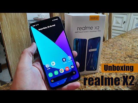 Realme X2 Unboxing e primeiras impressões