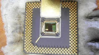 GOLD yield: the last 6 CPUs from the 5kg batch