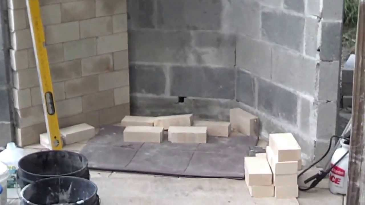 Rumford Outdoor Fireplace Layout Of Firebox Youtube