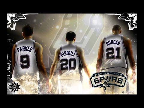 San Antonio Spurs Big Three Mix - Ballin' ᴴᴰ