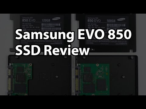 Samsung 850 EVO 120GB and 500GB RAID and RAPID Review