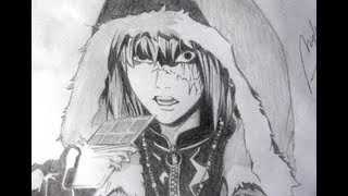 Drawing of Mello in Death Note