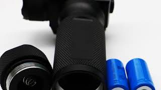 LASERWIN Heavy Duty Green Laser Flashlight Foregrip