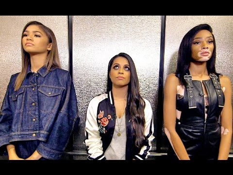 Thumbnail: Three Girls, One Elevator (ft. Zendaya & Winnie Harlow)