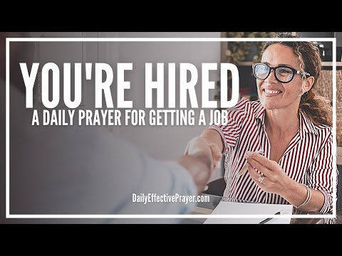 Prayer For Getting a Job - Prayer For Finding a Good Job