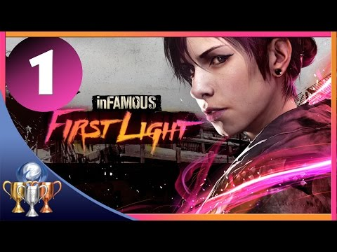 inFAMOUS First Light Walkthrough [Part 1] Nice To See You Again, Fetch