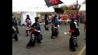踊り子隊 桜ふぶき 2012.11.11 いには野祭り