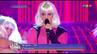 Ángela Torres como Sia, Chandelier - Tu Cara Me Suena 2014