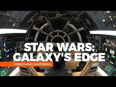 STAR WARS NA DISNEYLAND, CALIFORNIA, DESCUBRA A STAR WARS GALAXY EDGE