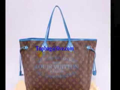 1aea0b8c99d9 Louis Vuitton 2013 New M40940 Monogram canvas Neverfull MM Grand Blue