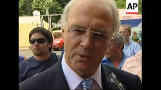 Beckenbauer and mayor on World Cup at halfway point