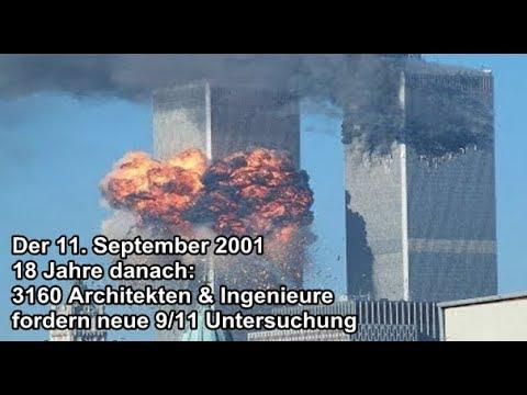 Der 11. September 18 Jahre später: 3160 Architekten & Ingenieure fordern 9/11 Untersuchung