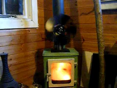 The Hobbit Stove And Vulcan Stove Fan In Operation Youtube