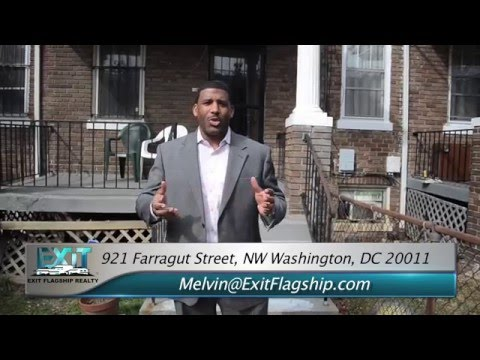 Estate Sale Petworth DC Home For Sale - Cheap Home in NW Washington DC - Investor Special -
