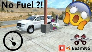 The Thirstiest Car in Automation game + BeamNG Driving.