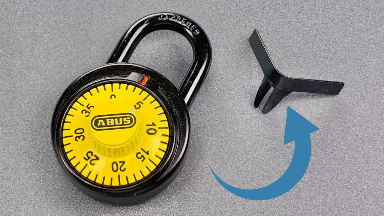 [1243] Shimming The Anti-Shim Abus Combination Lock (Model 78/50) | Full Video