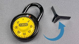 [1243] Shimming The Anti-Shim Abus Combination Lock (Model 78/50)