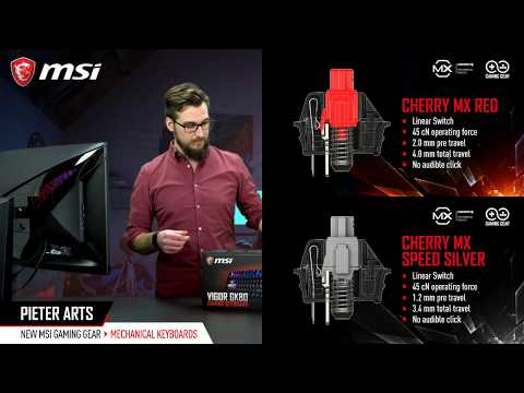 Unveiling brand new MSI Gaming Gear Live!