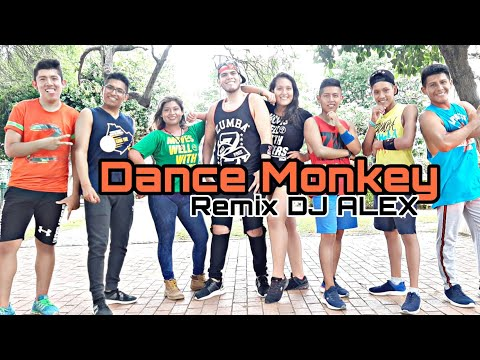 Dance Monkey  -  DJ alex  / zumba choreo