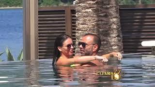 Ana Sevic sa deckom na bazenu