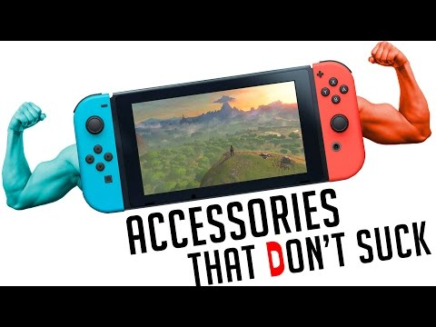 Nintendo Switch: 10 Accessories That Don't Totally Suck