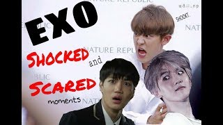 Download EXO being scared and shocked Mp3 and Videos