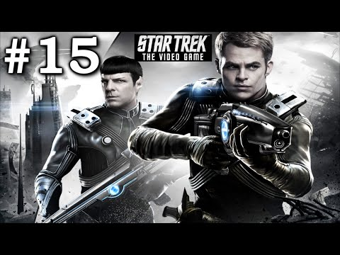 Star Trek The Video Game 2013: Playthrough Part 15[Gorn Planet - Kirk Gameplay]