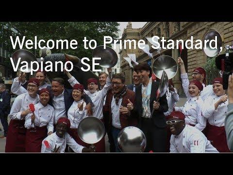 Börsengang (IPO) Vapiano SE