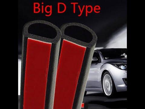 резиновый уплотнитель для автомобиля Big D, Small D