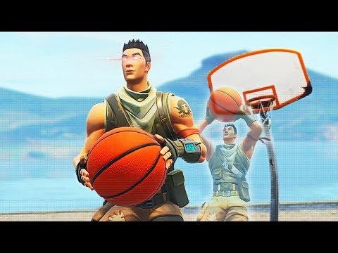 Duo has basketball AIMBOT (Fortnite)
