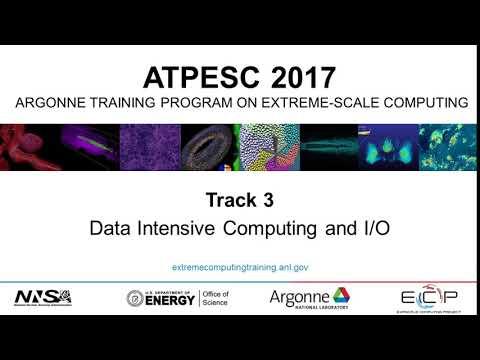 Data Intensive Computing and I/O
