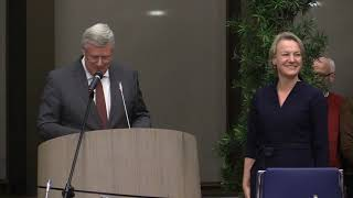 Warm onthaal in Dalfsen voor burgemeester Erica van Lente