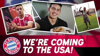 FC Bayern is coming to the USA! | Audi Summer Tour 2018