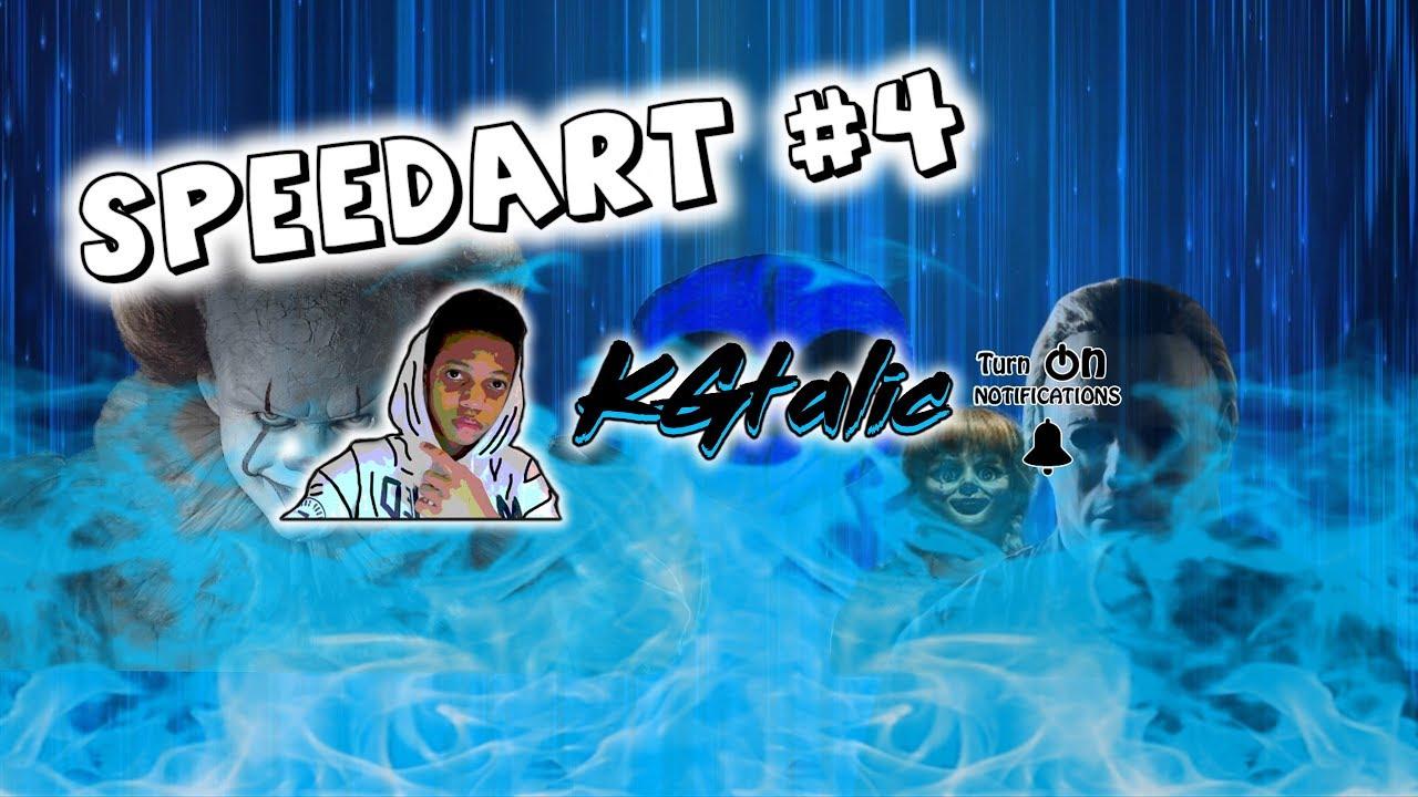 Speedart #4 (KGtalic)