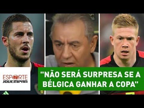 """""""Não será surpresa se a BÉLGICA ganhar a COPA"""", diz Flavio Prado"""