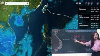 Dự báo thời tiết 23/9/2017 áp thấp nhiệt đới giật cấp 8 hướng vào nước ta