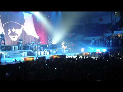 Eric Church - (Concert intro) Country Music Jesus - Saginaw, MI - 1.27.12