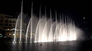 Dubai Mall Fountain- I will always love you/ Whitney Houston