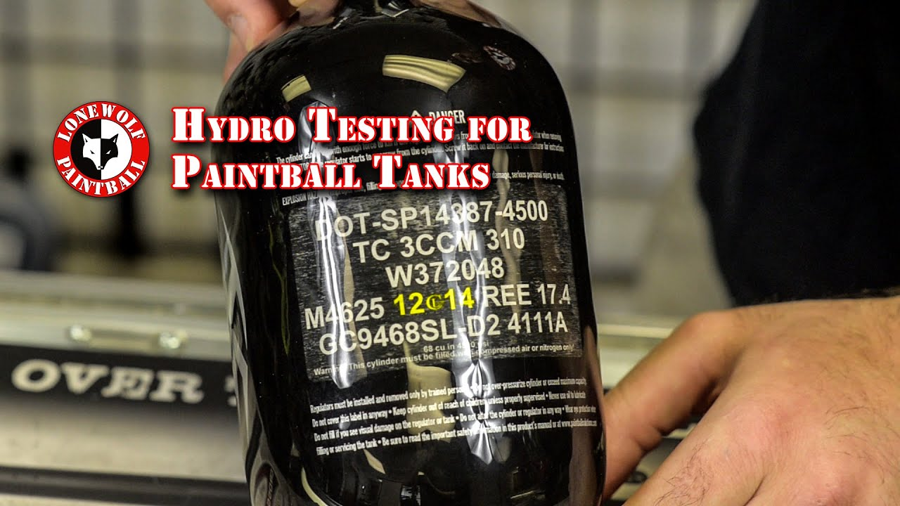 Paintball Hydro Test Tank Dates & Meanings Lone Wolf Paintball Michigan