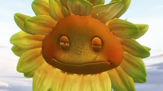 plants vs zombies garden warfare dramatic destruction of the mega sunflower
