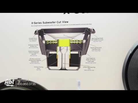 CES 2017 - Alpine X-Series Subwoofers [ X-W12D4 and X-W10D4 ]