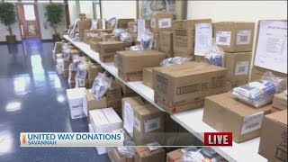 United Way donates thousands of school supplies