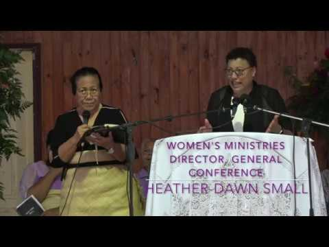 GOD Can when we can not  - Heather Dawn Small - Women's Ministries - Tonga