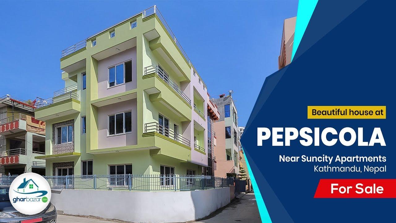 House At Pepsicola Suncity Apartments Pepsicola Kathmandu