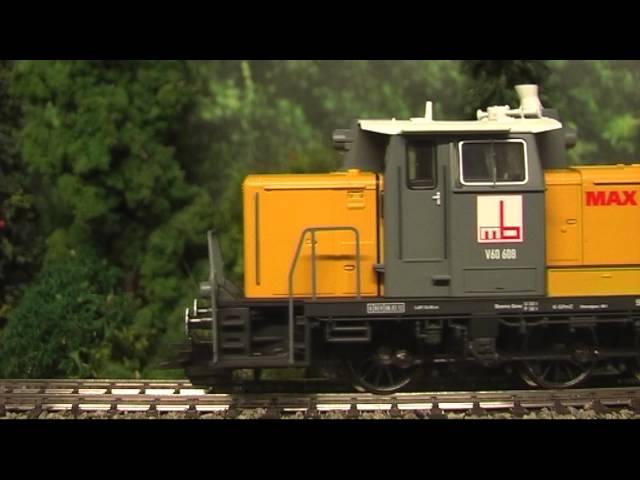 Modellbahn-Neuheiten (422) Trix 22623 BR 260  Max Bögl