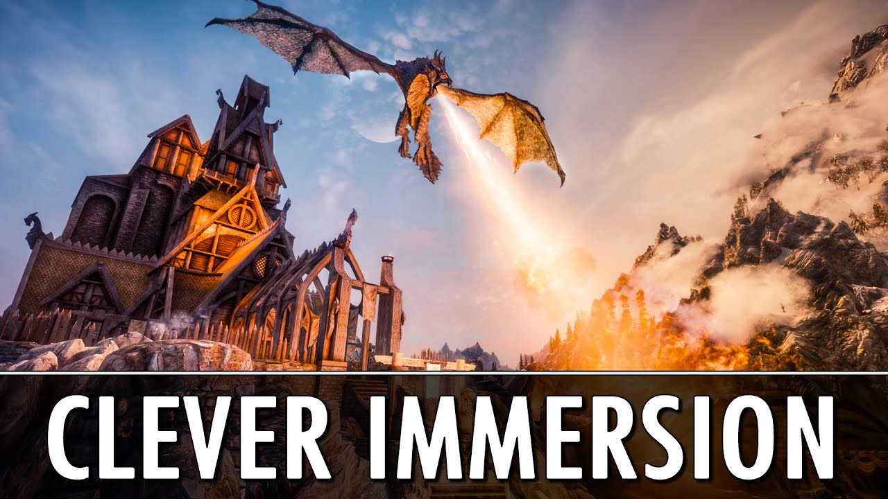 Skyrim Mods: Clever Immersion Mods thumbnail