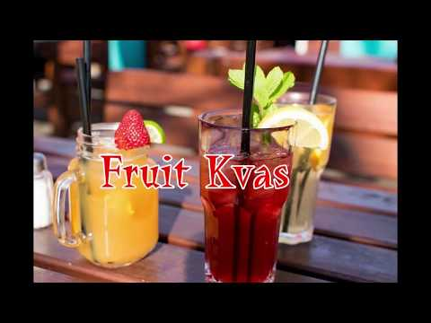 Fruit Kvas Natural Probiotics Recipe
